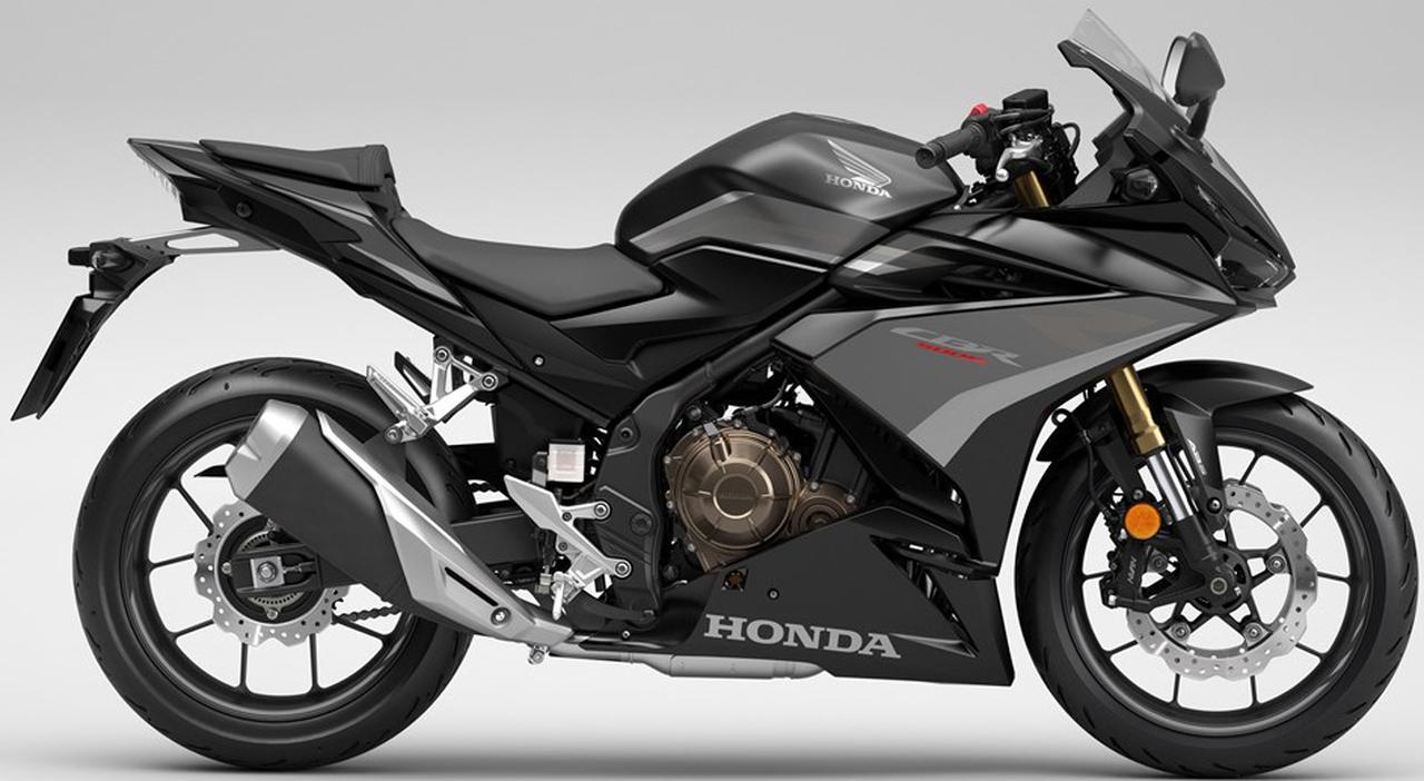 画像1: ホンダ「CBR500R」「CB500F」「CB500X」の2022年モデルが欧州で登場! 足回りを大幅グレードアップしてより軽快な走りに