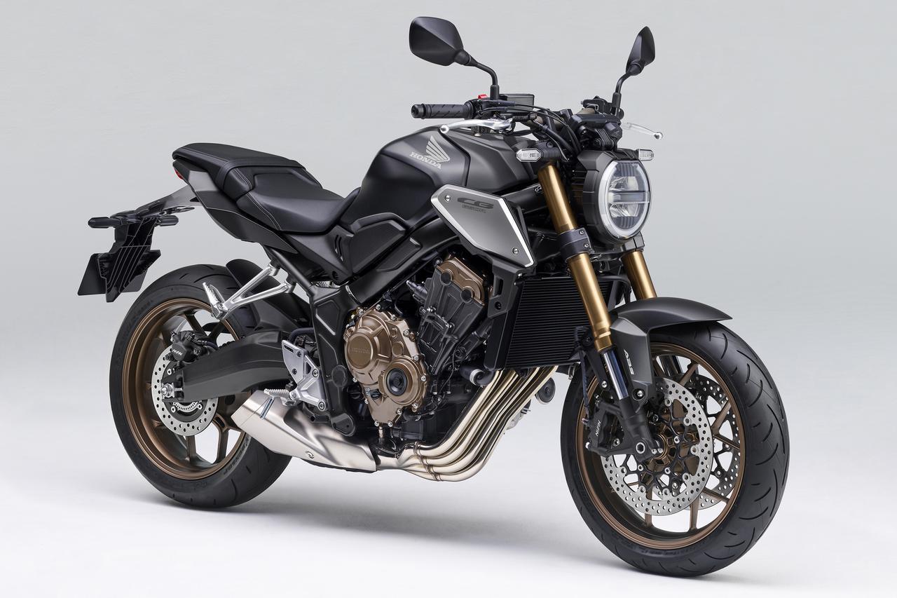 画像: Honda CB650R 総排気量:648cc エンジン形式:水冷4ストDOHC4バルブ並列4気筒 シート高:810mm 車両重量:201kg 税込価格:97万9000円
