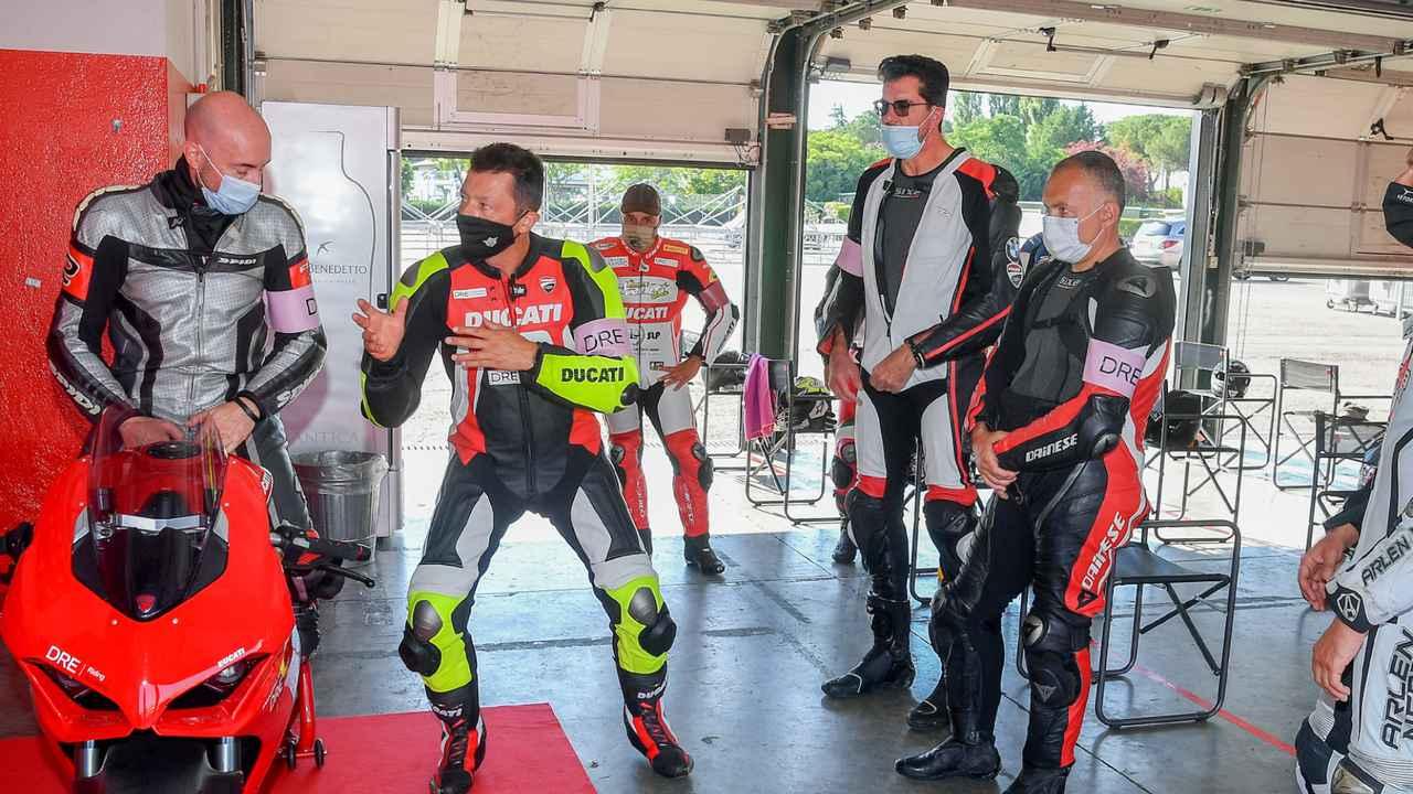 Images : 7番目の画像 - 【写真7枚】ドゥカティ「DRE レーストラック・アカデミー」 - webオートバイ