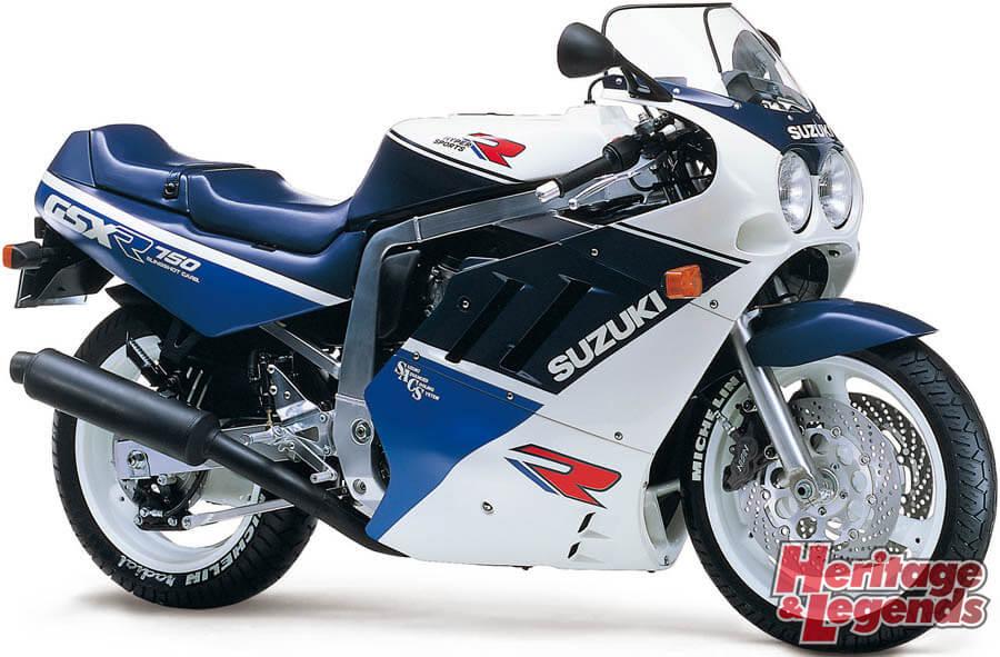 スズキGSX-R750(1985~2019)の歴史06