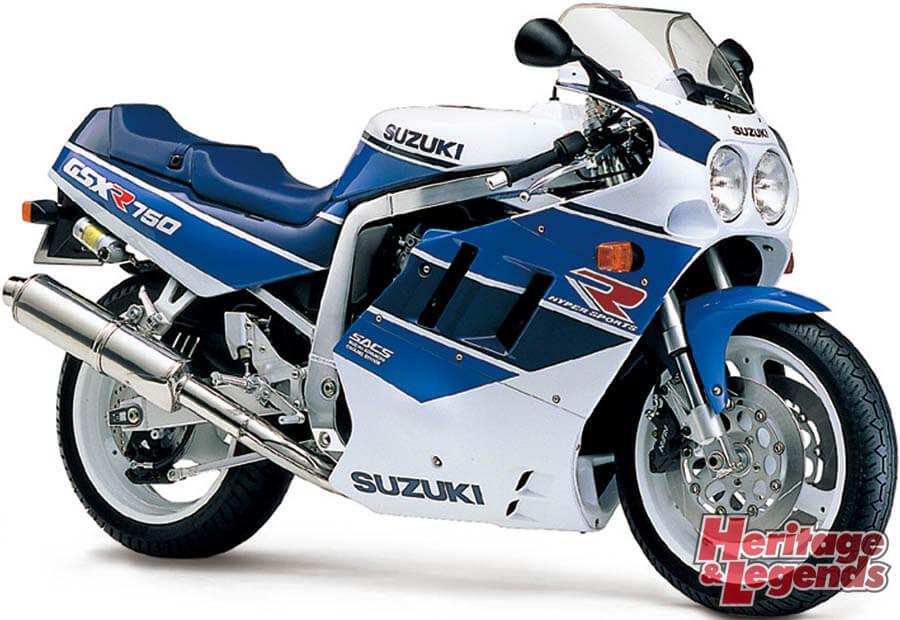 スズキGSX-R750(1985~2019)の歴史09