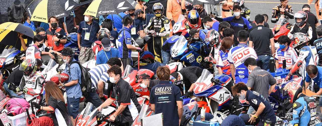 <全日本ロードレース> ちょっと実験^^ 岡山大会あれこれ ~使わなかった写真、供養します