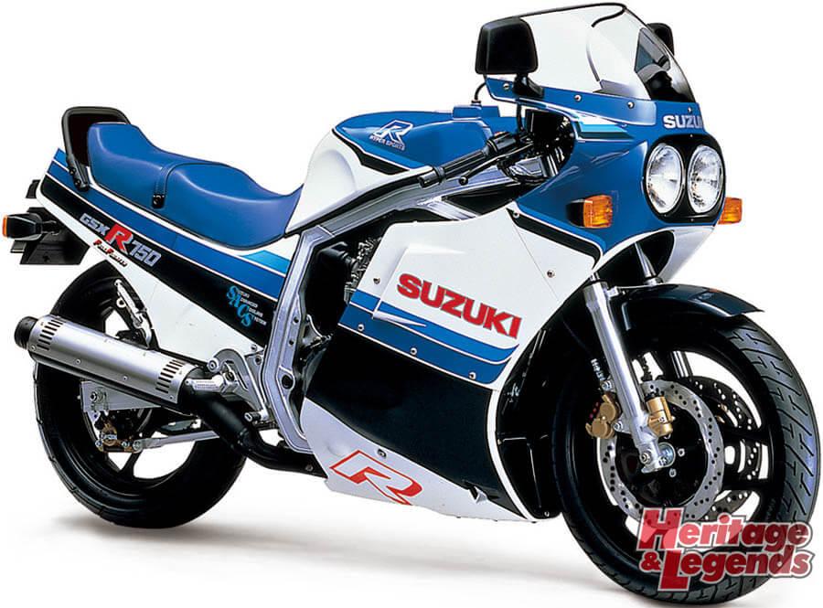 スズキGSX-R750(1985~2019)の歴史04