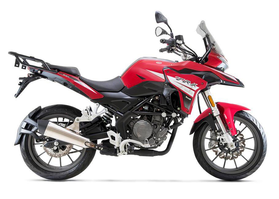 画像1: ベネリ「TRK251」【1分で読める 2021年に新車で購入可能な250ccバイク紹介】
