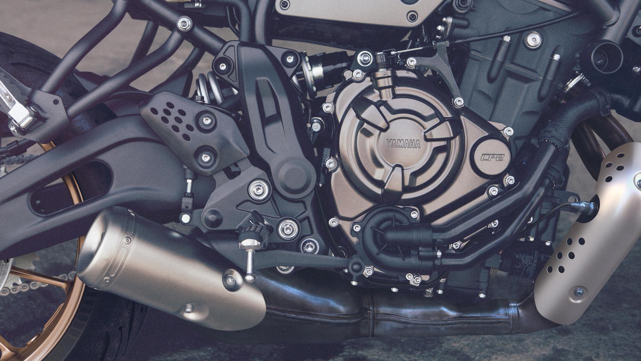 画像2: ヤマハ「XSR700」2022年モデル・海外仕様の特徴