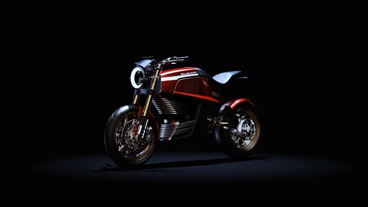 画像: Ducati 860-E Concept www.youtube.com