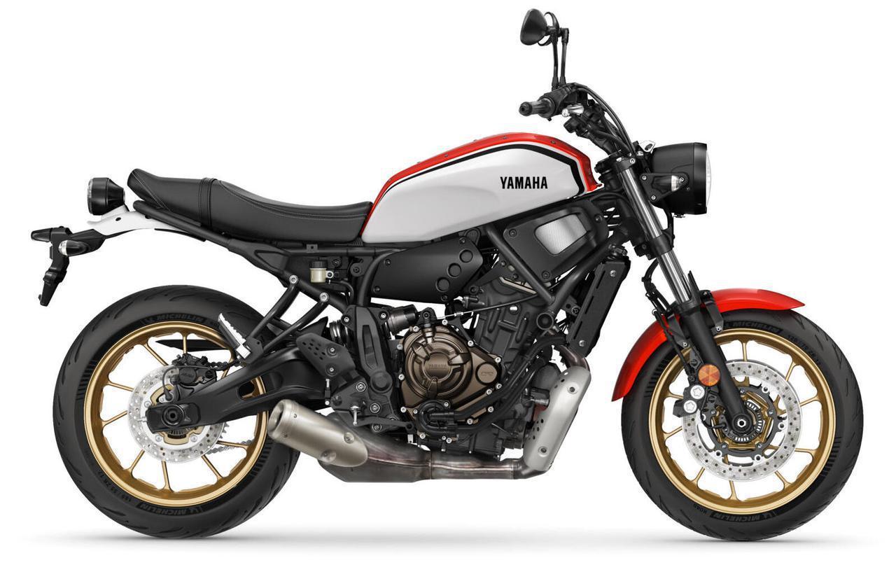 画像1: ヤマハ「XSR700」の2022年モデルが欧州で登場|排ガス規制対応の新スペックエンジンを搭載したヘリテイジスポーツ