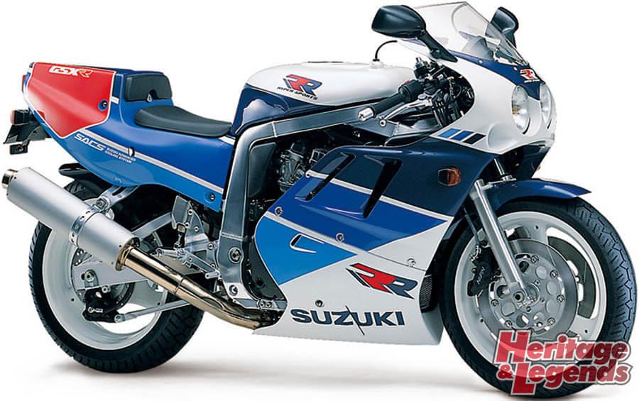スズキGSX-R750(1985~2019)の歴史08