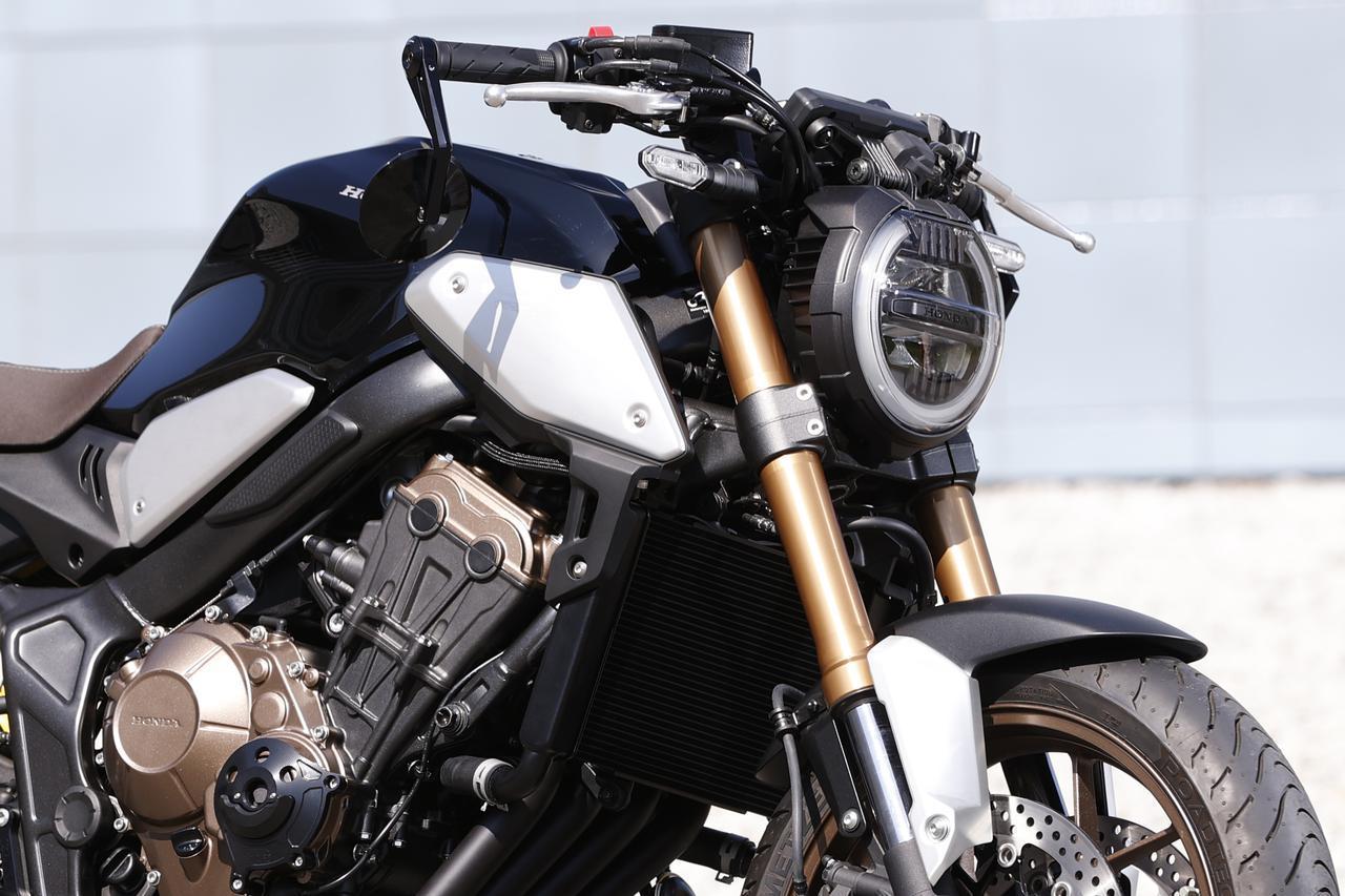 画像: ホンダ「CB650R」日本の純正カスタマイズ・サンプル - webオートバイ