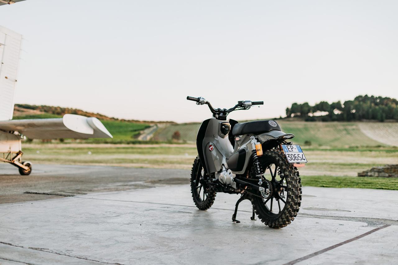 Images : 4番目の画像 - 【写真25枚】スーパーカブ125X - webオートバイ