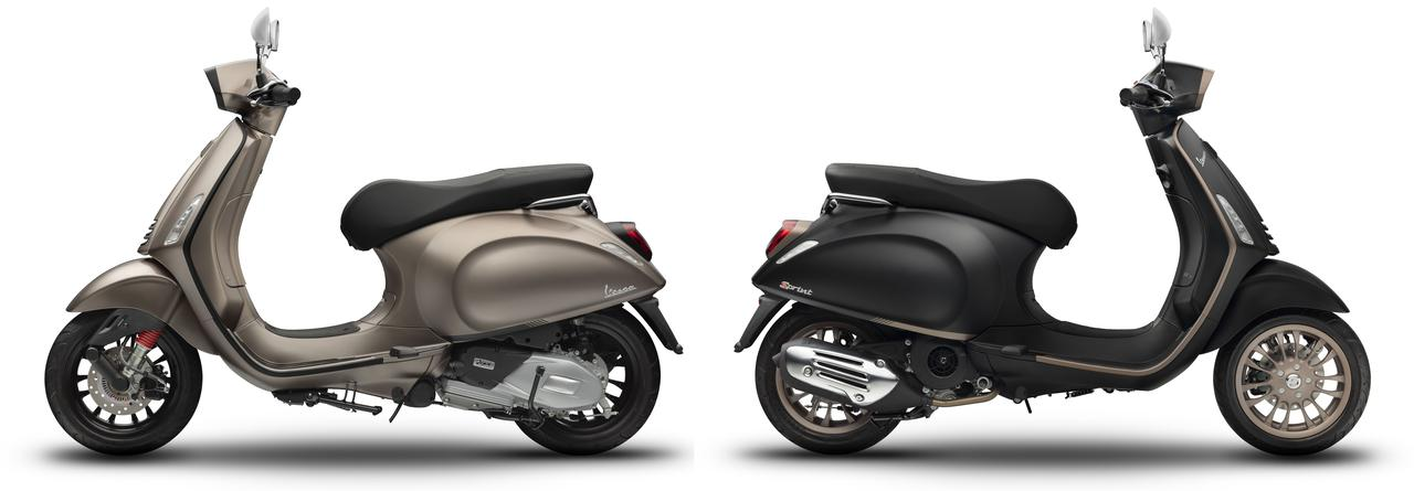 画像4: ベスパが特別モデル「スプリントS150 TFTエディション」を発売! TFTカラー液晶メーターを採用した上級モデル