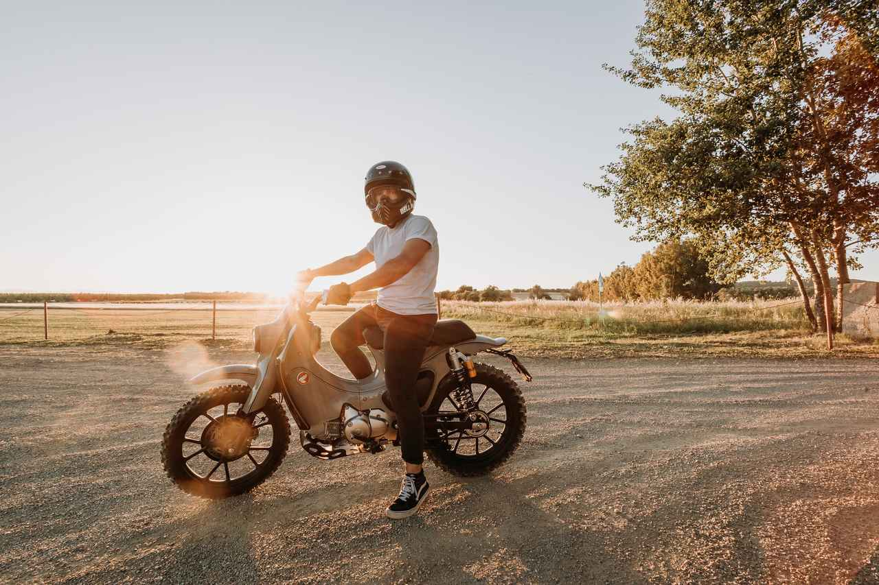 Images : 10番目の画像 - 【写真25枚】スーパーカブ125X - webオートバイ