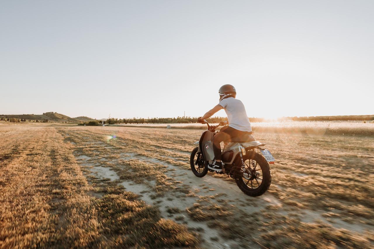 Images : 18番目の画像 - 【写真25枚】スーパーカブ125X - webオートバイ