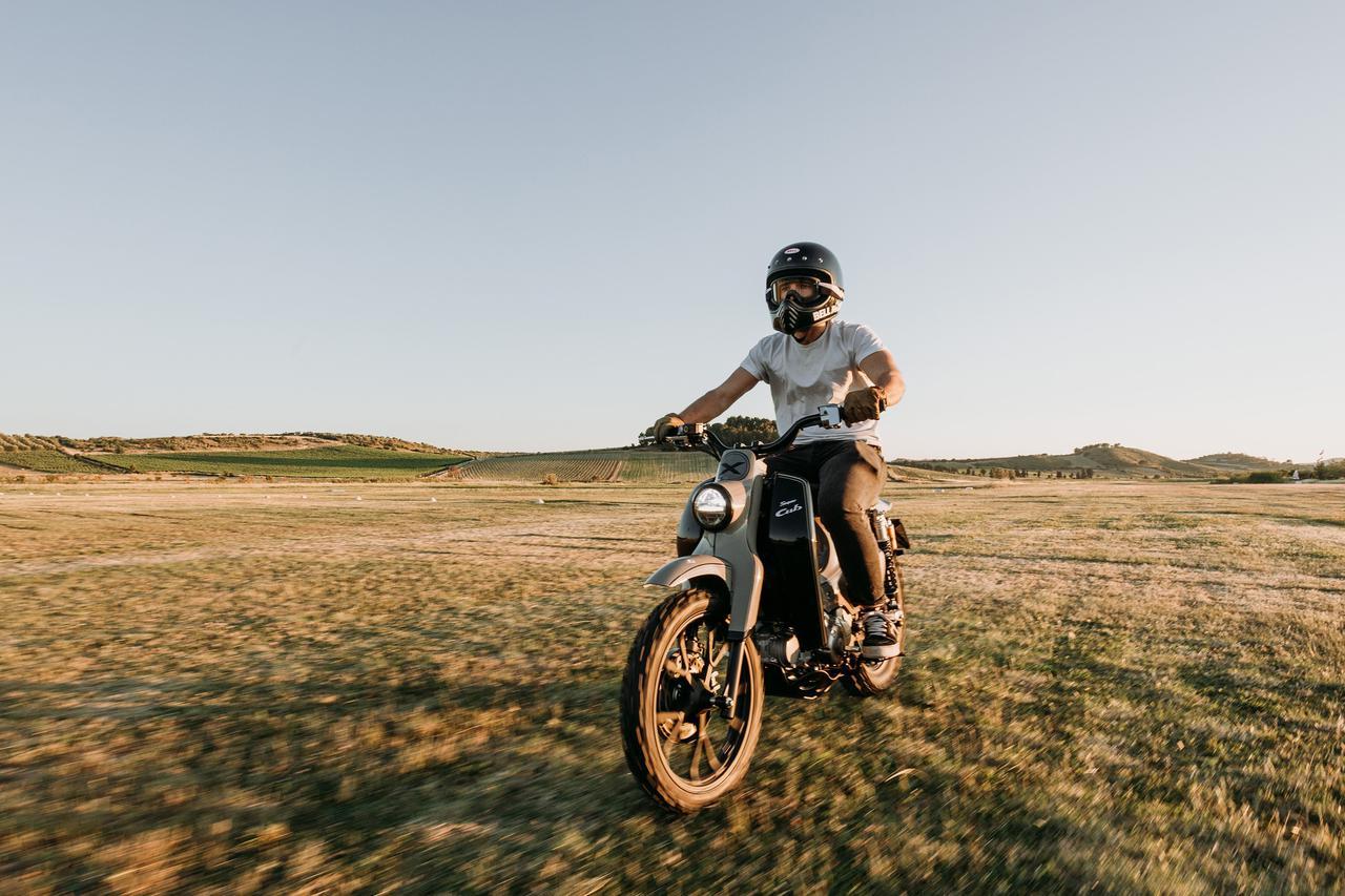 Images : 9番目の画像 - 【写真25枚】スーパーカブ125X - webオートバイ