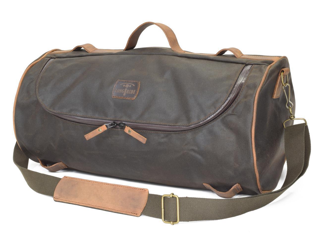 画像3: ベルギー発、こだわりが詰まったおしゃれバッグ|「ロングライド」のダッフルバッグは旅するバイクによく似合う!