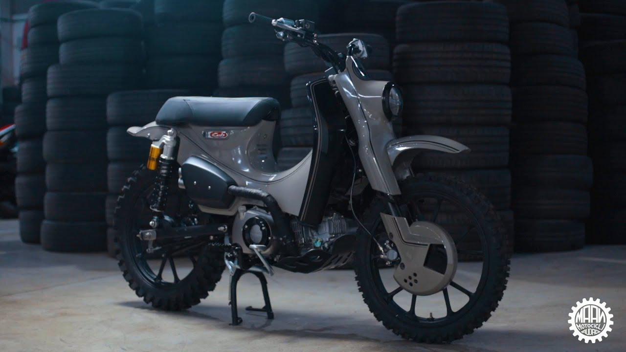 画像: 【公式動画】Honda e MAAN Motocicli Audaci presentano il Super Cub 125X www.youtube.com