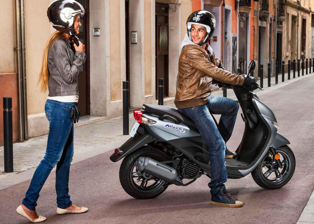 画像9: 日本ではホンダ製になったヤマハの50ccスクーター、海外ではいまも健在