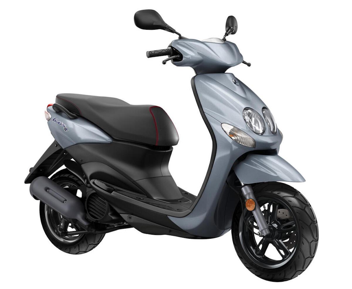 画像: YAMAHA Neo's4 EU仕様 総排気量:49cc エンジン形式:水冷4ストOHC単気筒 シート高:790mm 車両重量:95kg