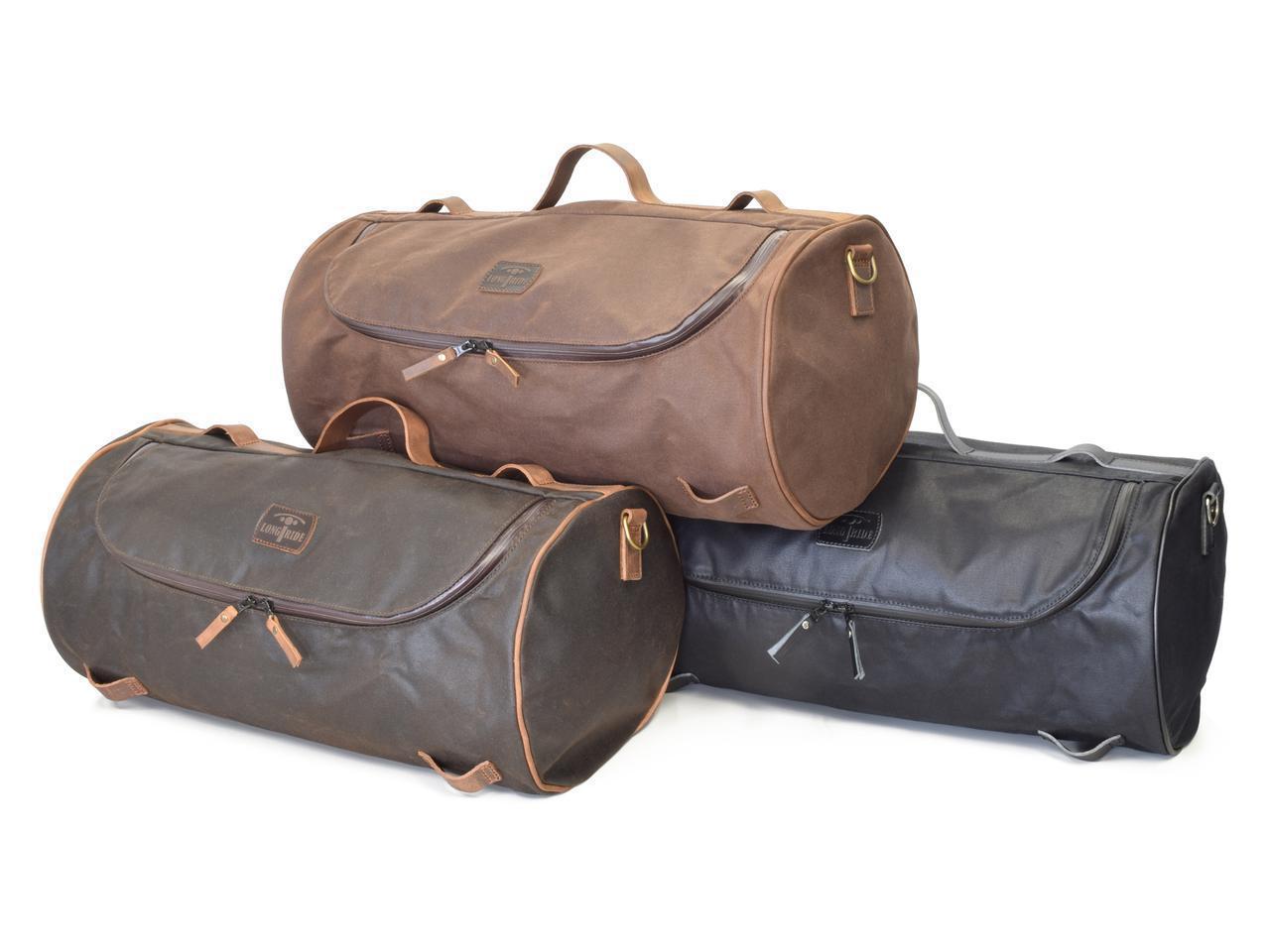 画像1: ベルギー発、こだわりが詰まったおしゃれバッグ|「ロングライド」のダッフルバッグは旅するバイクによく似合う!