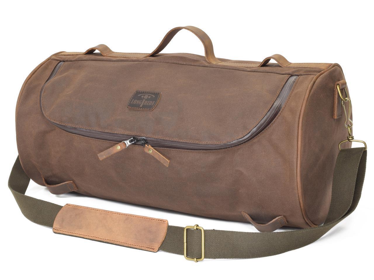 画像2: ベルギー発、こだわりが詰まったおしゃれバッグ|「ロングライド」のダッフルバッグは旅するバイクによく似合う!