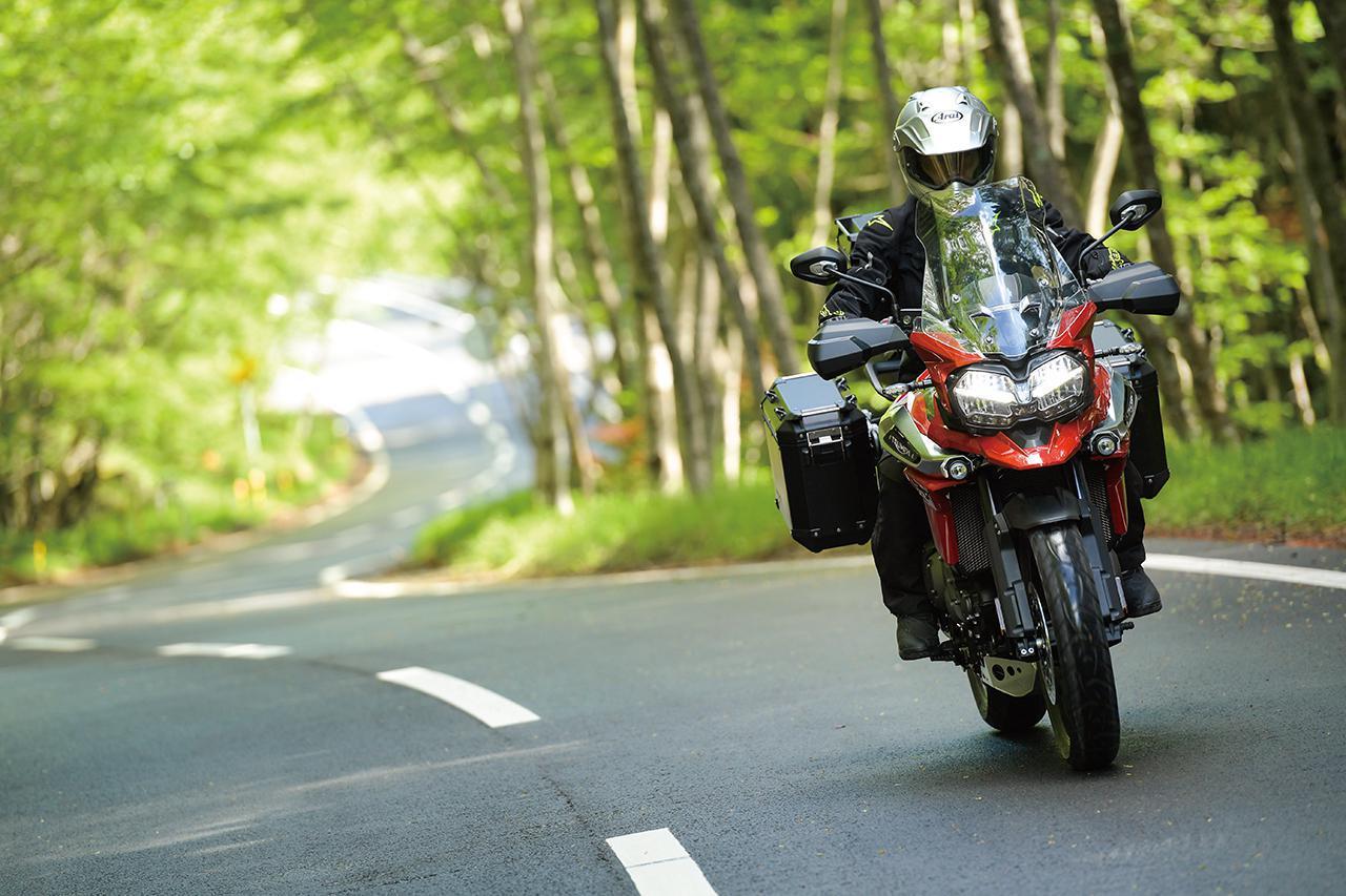 画像: 【現行モデル情報】トライアンフ「タイガー1200XRT」インプレ(2021年) - webオートバイ