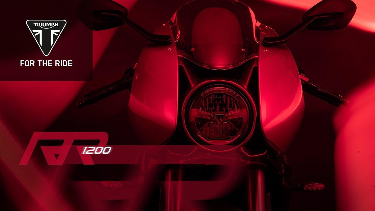 画像: 【動画】Get ready for the new Speed Triple 1200 RR… www.youtube.com