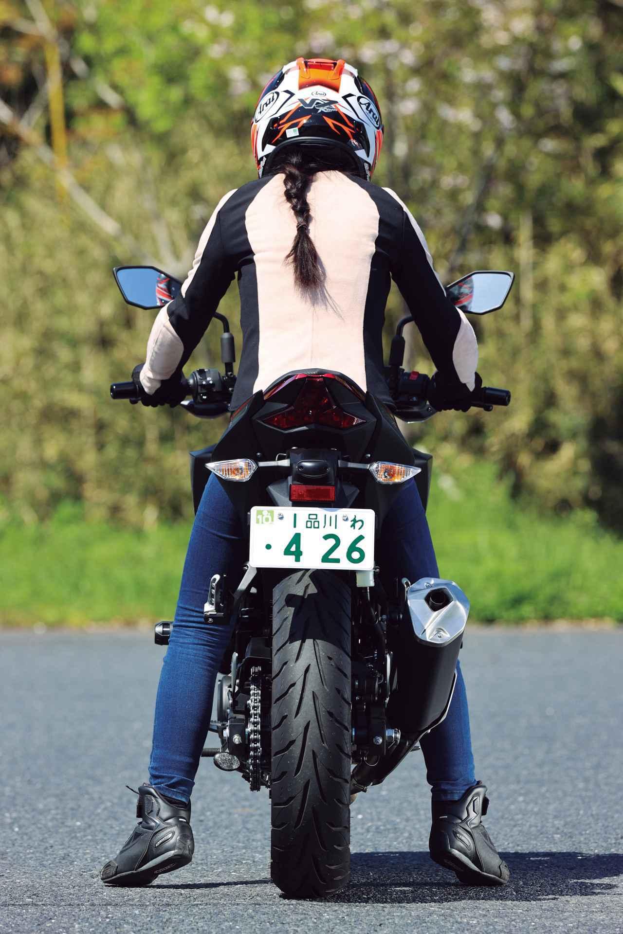 画像: 【足つき】カワサキ「Z250」各部解説 - webオートバイ