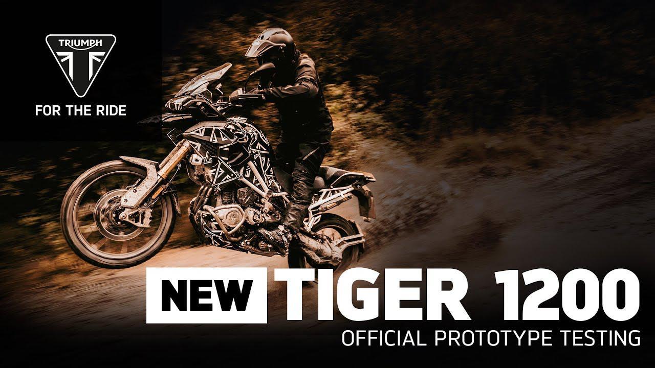 画像: 【動画】New Tiger 1200 - Official Prototype Testing www.youtube.com