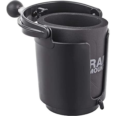 画像: Amazon | RAM MOUNTS(ラムマウント) マウント部 1インチボール 水平維持 セルフレベリング カップホルダー ブラック 1セット