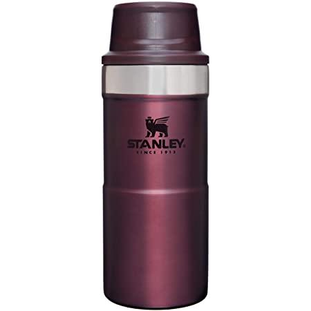 画像: Amazon|STANLEY(スタンレー) クラシック真空ワンハンドマグII 0.35L ワインレッド