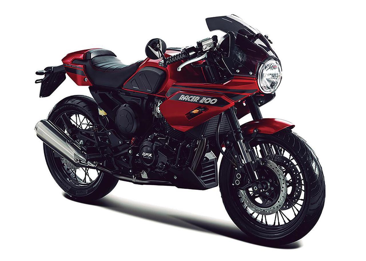 画像1: GPX「ジェントルマン レーサー200」【1分で読める 2021年に新車で購入可能な200ccバイク紹介】