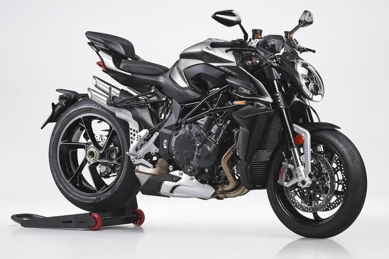画像2: MVアグスタ「ブルターレ1000RS」新登場! 美しくも獰猛なスタイル、強烈なパフォーマンスに快適さをプラス【2022速報】