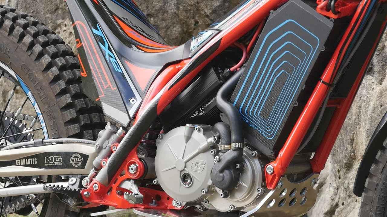 画像: EV電動トライアルバイクに乗ってみた。GASGAS TXE www.youtube.com