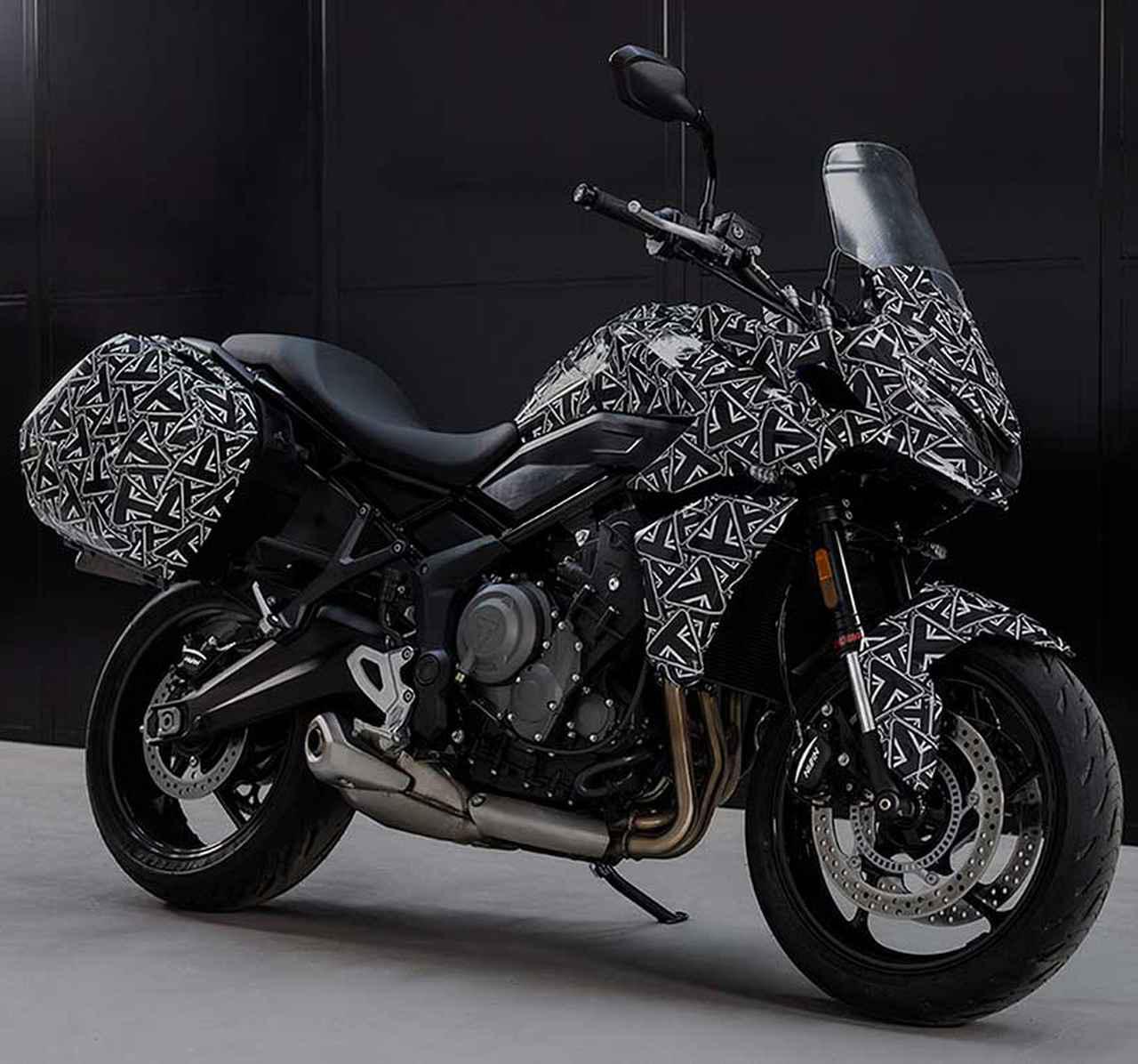 画像: トライアンフ2022年モデル速報|「スピードトリプル1200RR」「タイガースポーツ660」新型「タイガー1200」にまずは注目 - webオートバイ
