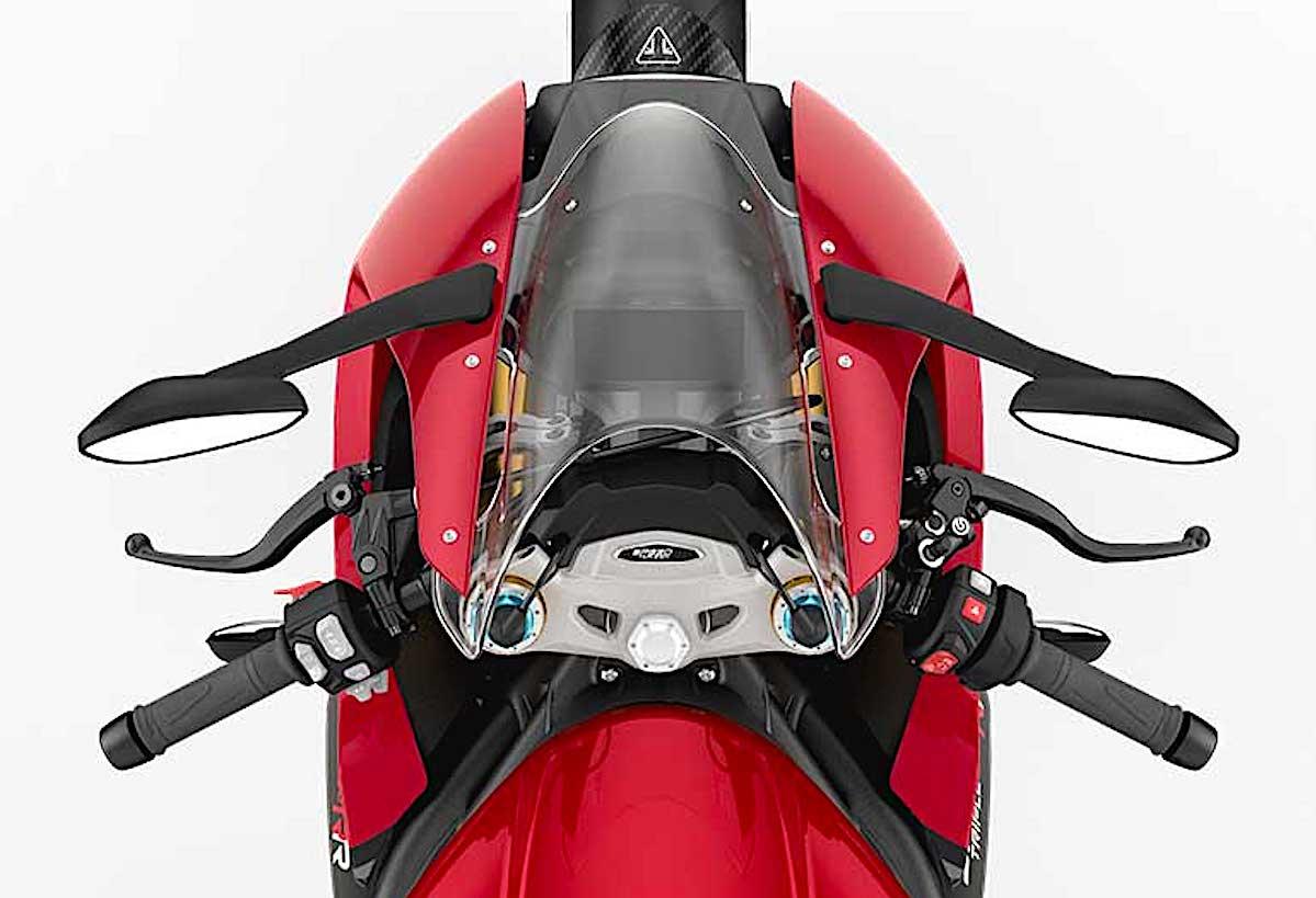 画像5: トライアンフ「スピードトリプル1200RR」の特徴