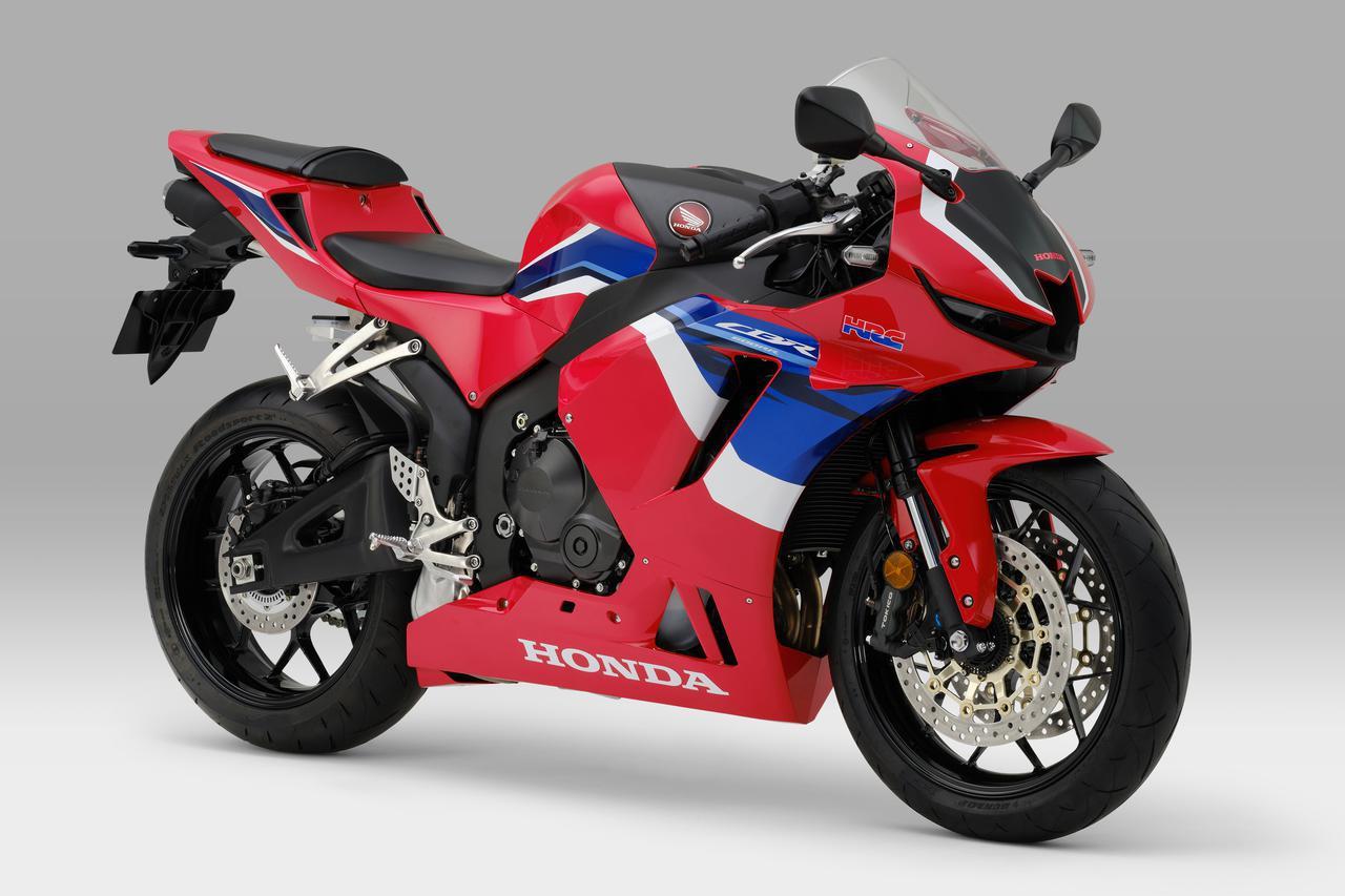 画像: Honda CBR600RR 総排気量:599cc エンジン形式:水冷4ストDOHC4バルブ並列4気筒 シート高:820mm 車両重量:194kg 税込価格:160万6000円