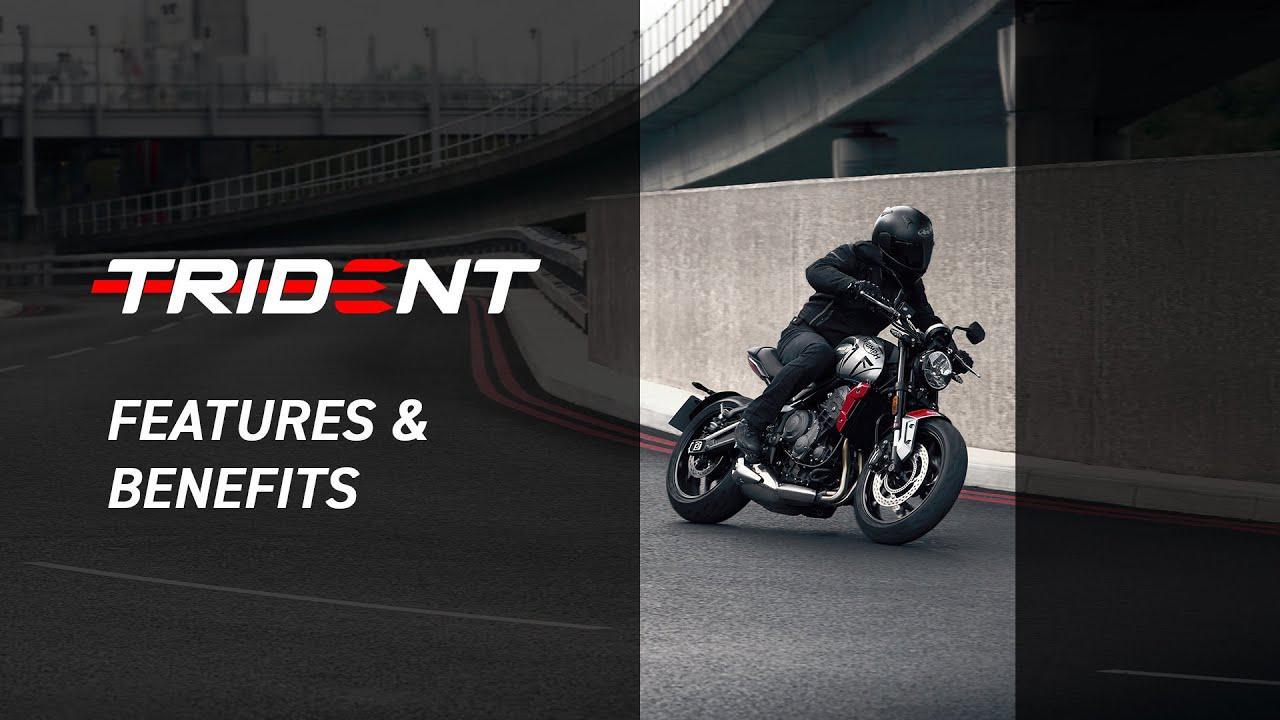 画像: 【公式動画】New Triumph Trident 660 Features and Benefits www.youtube.com