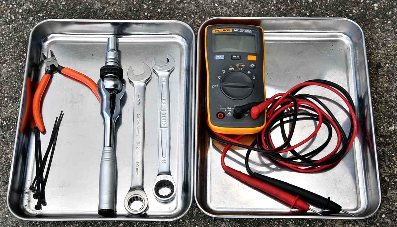 画像1: 必要な工具