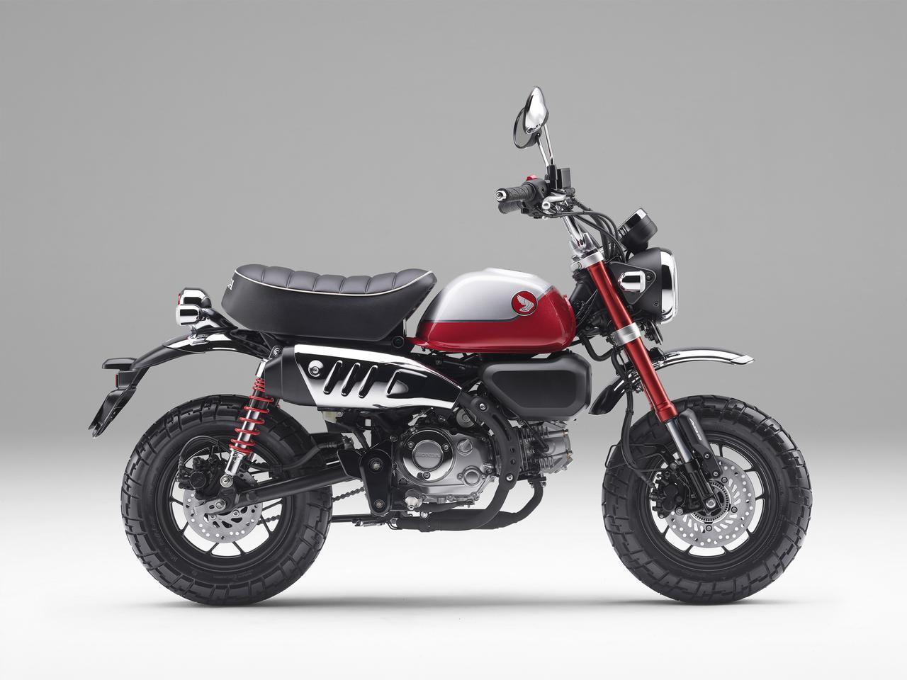 画像1: ホンダ「モンキー125」がモデルチェンジ! 新型エンジン&5速ミッションを採用、価格は従来のABS車から据え置きで発売