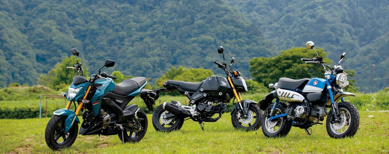画像: 【比較】125ccレジャーバイクの楽しみとは?ホンダ「モンキー125」&「グロム」、カワサキ「Z125プロ」でショートツーリング - webオートバイ