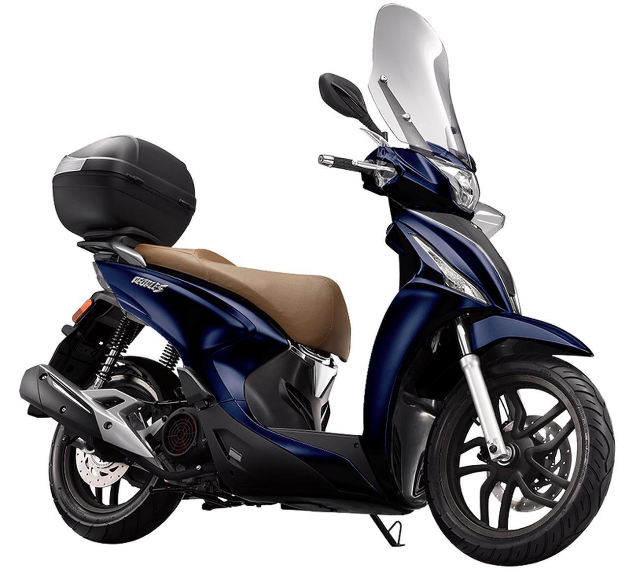 画像2: キムコ 「ターセリーS 150」【1分で読める 2021年に新車で購入可能な150ccバイク紹介】