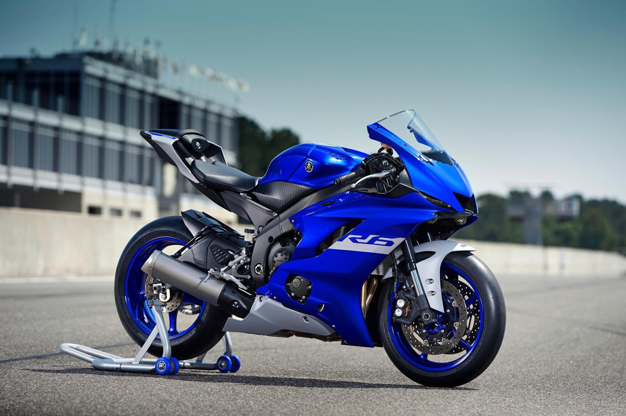 画像: ヤマハ「YZF-R6 RACE」(欧州モデル情報) - webオートバイ