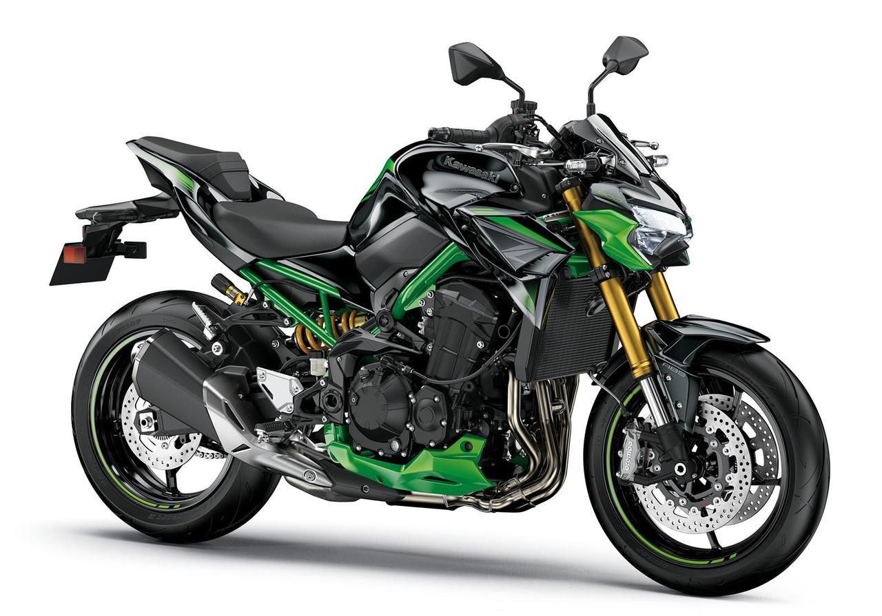 画像: Kawasaki Z900 SE 総排気量:948cc エンジン形式:水冷4ストDOHC4バルブ並列4気筒 シート高:820mm 車両重量:212kg