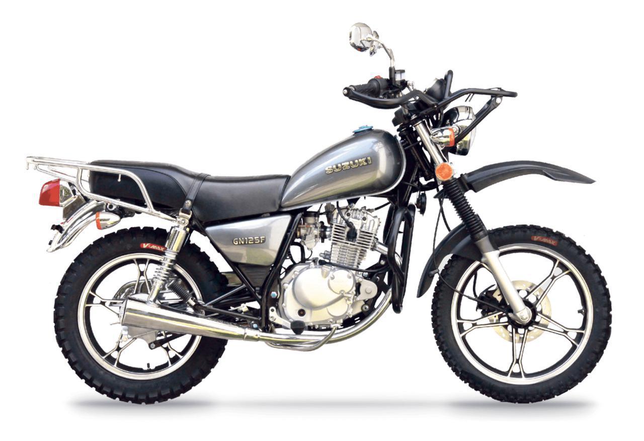 画像: スズキ「GN125」はグアテマラで独自の進化を遂げていた! 派生モデルも興味深い - webオートバイ