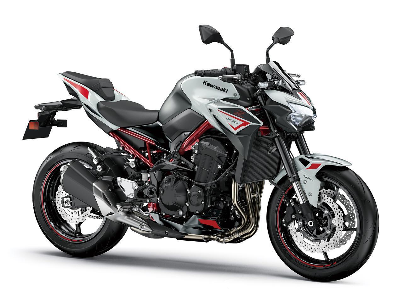 画像: Kawasaki Z900 総排気量:948cc エンジン形式:水冷4ストDOHC4バルブ並列4気筒 シート高:800mm 車両重量:213kg
