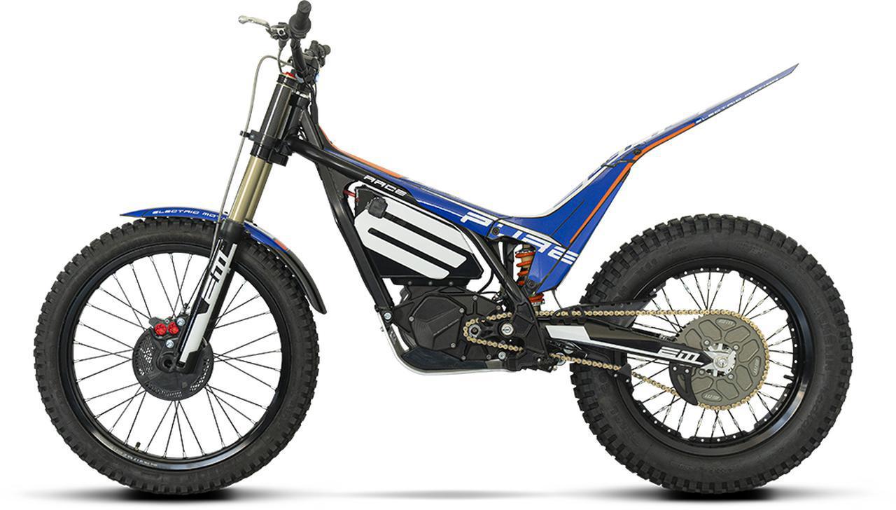 画像: 現行モデルの、イーピュアシリーズのトップモデル、「EPURE RACE」。 www.electric-motion.fr