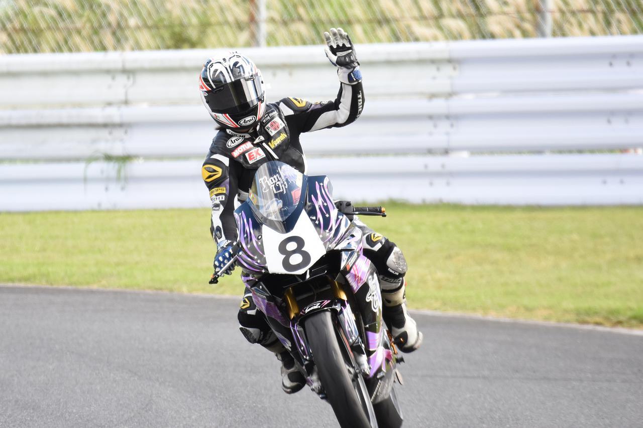 画像3: <全日本ロードレース> 梶山采千夏、逆転チャンピオン! ~WebオートバイはJP250を熱烈応援します