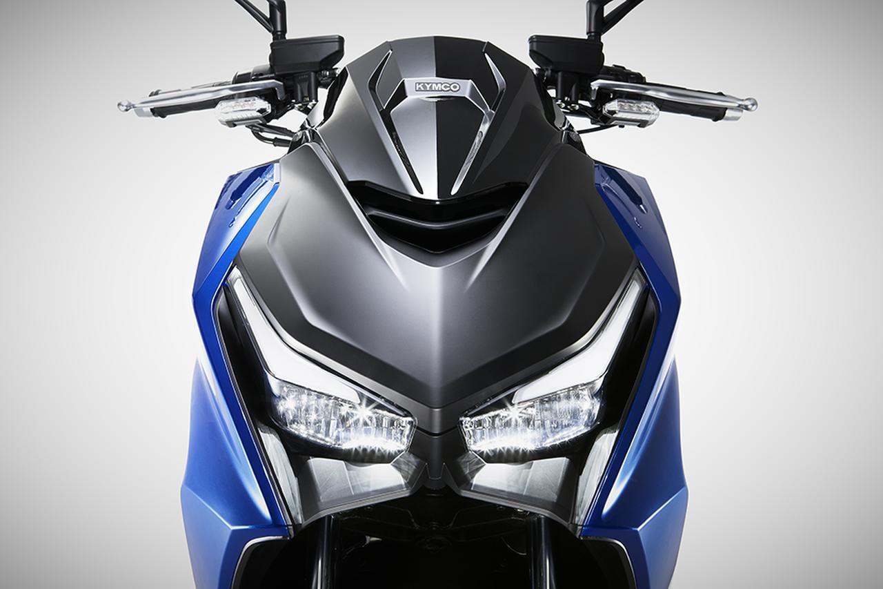 画像: 【新型車】キムコ「KRV」 - webオートバイ