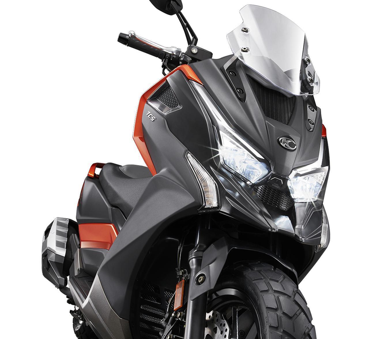 画像: 【新型車】キムコ「DT X360」 - webオートバイ