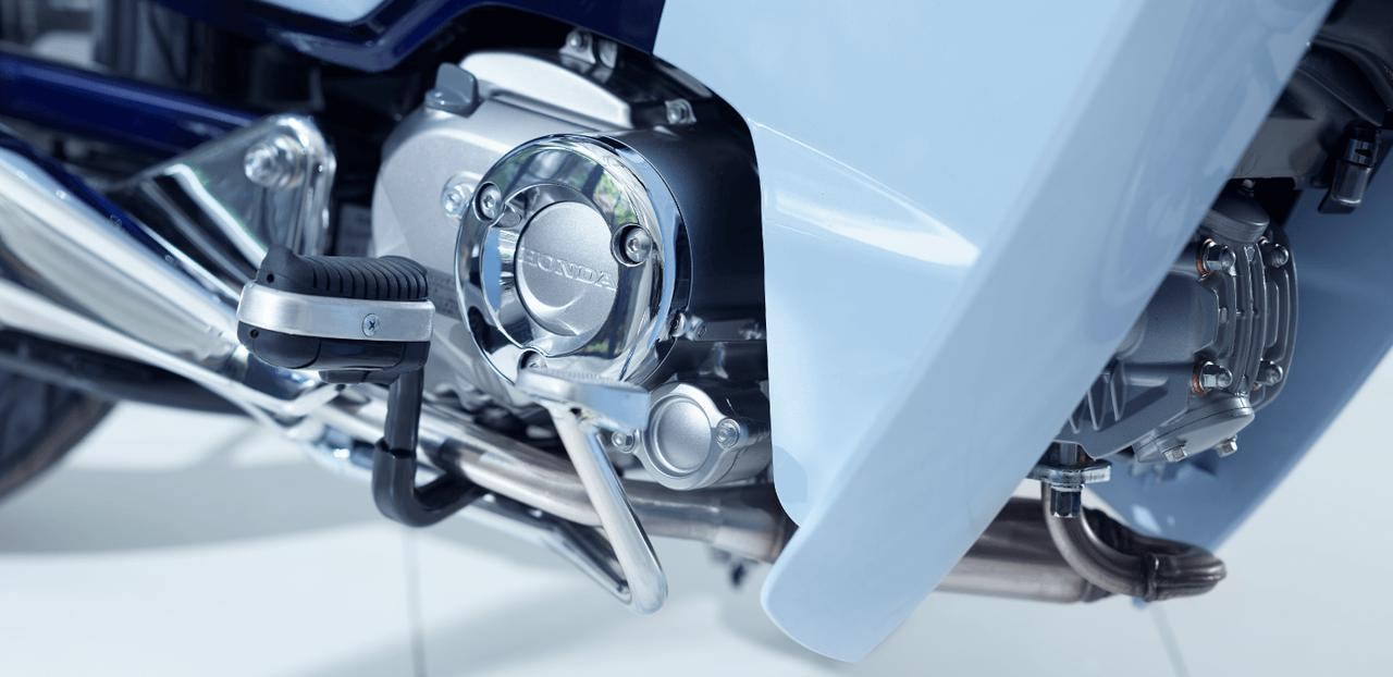 画像: 新エンジンの採用